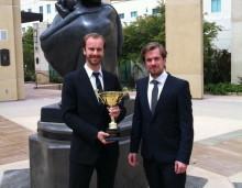 Svenskt studentföretag vann prestigefylld tävling i USA
