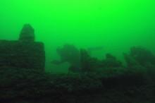 Torrskodd tur under ytan i Dalarö