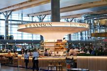 Oslo Lufthavn ønsker W.B. Samson velkommen