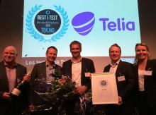 Telia har Norges beste mobilnett