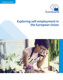 Publication alert: Exploring self-employment in the European Union