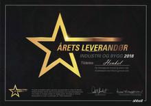 Ahlsell kårer Henkel Norge som Årets Leverandør i 2018