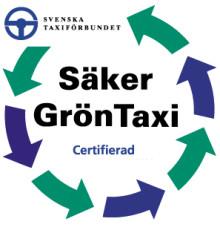 Taxi Göteborg Säker Grön Taxi-certifieras  – blir först i Sverige av de större taxibolagen