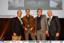 Dometic: Sponsor Dometic Presents Vripack with IBI/METSTRADE Boat Builder Awards Honour