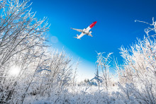 Hit the slopes from £29.90 one-way with Norwegian this winter