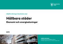 Ny rapport: Hållbara städer Ekonomi och energisatsningar