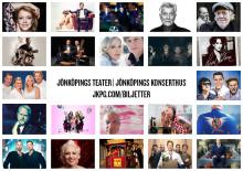 Spännande höst på Jönköpings Teater och Jönköpings Konserthus