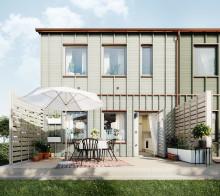 Succéradhuset VeidekkeFLEX kommer till Älvängen – pris från 2 295 000 kr per hus