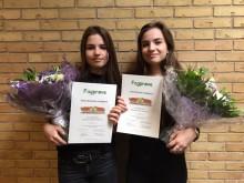 Tvillinger fra Bygma Amager fik topkarakterer i fagprøve
