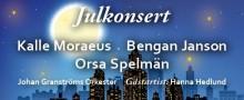 En julkonsert medKalle Moraeus, Bengan Janson & Orsa Spelmän