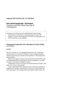 161017 Nytt parkeringsgarage i Hjorthagen