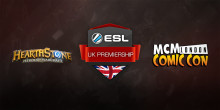 ESL UK Premiership Hearthstone Finals Takes Place at MCM London Comic-Con 28 & 29 May