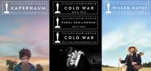 Cold War, Kapernaum och Willem Dafoe är Oscarsnominerade
