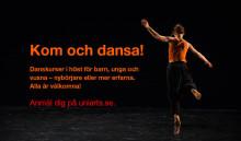 Platser kvar på vuxenkurser i jazz- och folkdans