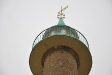 Återinvigning av  luftbevakningstornet