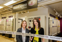 Charity ambassador battling rare Stargardt disease urges residents to have regular eye tests as new Leicester optician launches