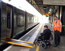 London Midland welcomes disabled travellers