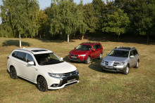 15 Jahre Mitsubishi Outlander: Trendsetter und Marken-Pionier