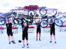 Hemkomsten efter ett cykeläventyr