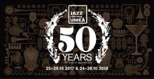 Biljettsläpp för 50-årsjubilerande Umeå Jazzfestival