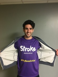 Edinburgh man's fundraising challenge after seeing the impact of stroke
