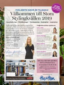 Stora stylingkvällen 2019 - Hus & Hem