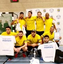 GIH-studenter blev årets studentmästare i futsal