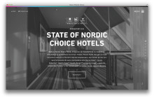 Nordic Choice Hotels lanserer digital årsrapport
