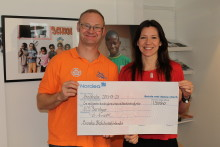 Skoljoggen gav 1,3 miljoner till SOS Barnbyar