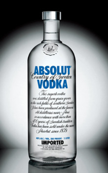 THE ABSOLUTE ABSOLUT VODKA STORY. SPRITMUSEUM 13 NOVEMBER.