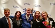 Projektet Visit Arctic Europe vinnare av Arctic Award