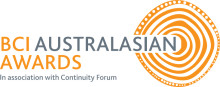 Business Continuity Institute Australasian Awards 2014
