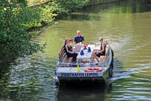 Neu in Leipzig: Hop on Hop off Touren mit dem Motorboot