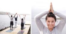 Finn balansen med en yogahelg ved havet