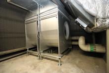 Stor energibesparing när ebm-papst största aggregatfläkt dubbelmonteras i Galleria Domino