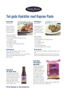 Receptfolder - Kapraw Paste