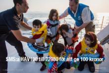 Vi vill också hjälpa till – Offerta skänker pengar till UNHCR