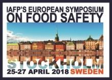Årets evenemang inom livsmedelssäkerhet, 25-27 april i Stockholm