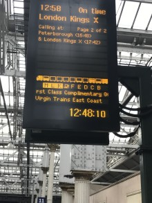 Virgin Trains helps passengers during the Christmas rush