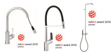 International design awards for three brand new Damixa products