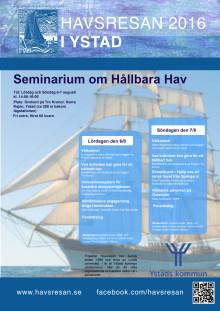 Affisch seminarium Ystad 2016