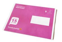 Nu landar kyrkovalets röstkort i brevlådorna