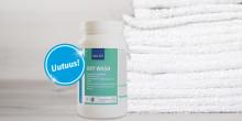 Uutuus: Kiilto Oxy Wash - Tehostin hygieeniseen tekstiilienpesuun