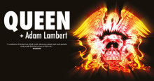 QUEEN + ADAM LAMBERT TIL NORGE!