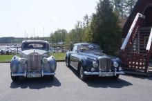Rolls-Royce-klubben intog lunch på Skansholmens Sjökrog