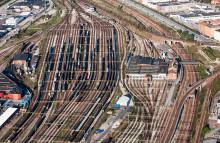 Nu trimmas Malmö godsbangård för längre godståg