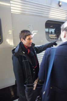 Resenärerna gillar SJs ombordpersonal