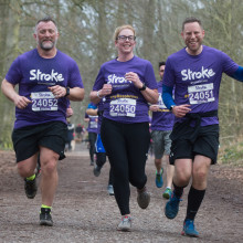Research shows that a Stroke Association Resolution Run can cut your stroke risk by 20 percent.