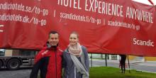 Michaela kapret drømmejobben under Arctic Race of Norway