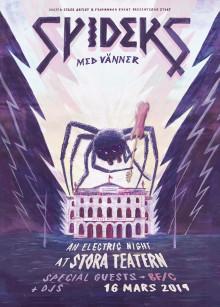 Spiders ger specialkonsert på Stora Teatern